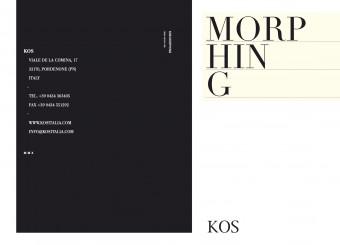 Portada Catalogo Morphing KOS