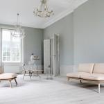 Muebles retro en madera y tonos pastel