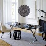 Ambiente creado con mobiliario de las colecciones Maxalto