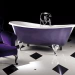 Bañera de patas modelo Admiral de Devon&Devon