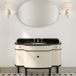 Ambiente de baño clásico con colección Music