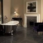 Bañera clásica con patas barrocas marca Devon&Devon