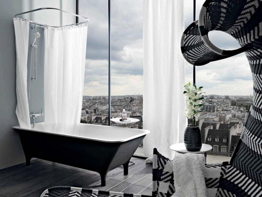 Cabinas De Ducha Kos:Bañera moderna con patas de la serie Morphing de Kos