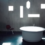 Bañera redonda In Out de Agape