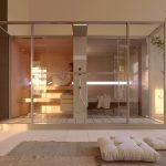 Cabinas de sauna y baño de vapor