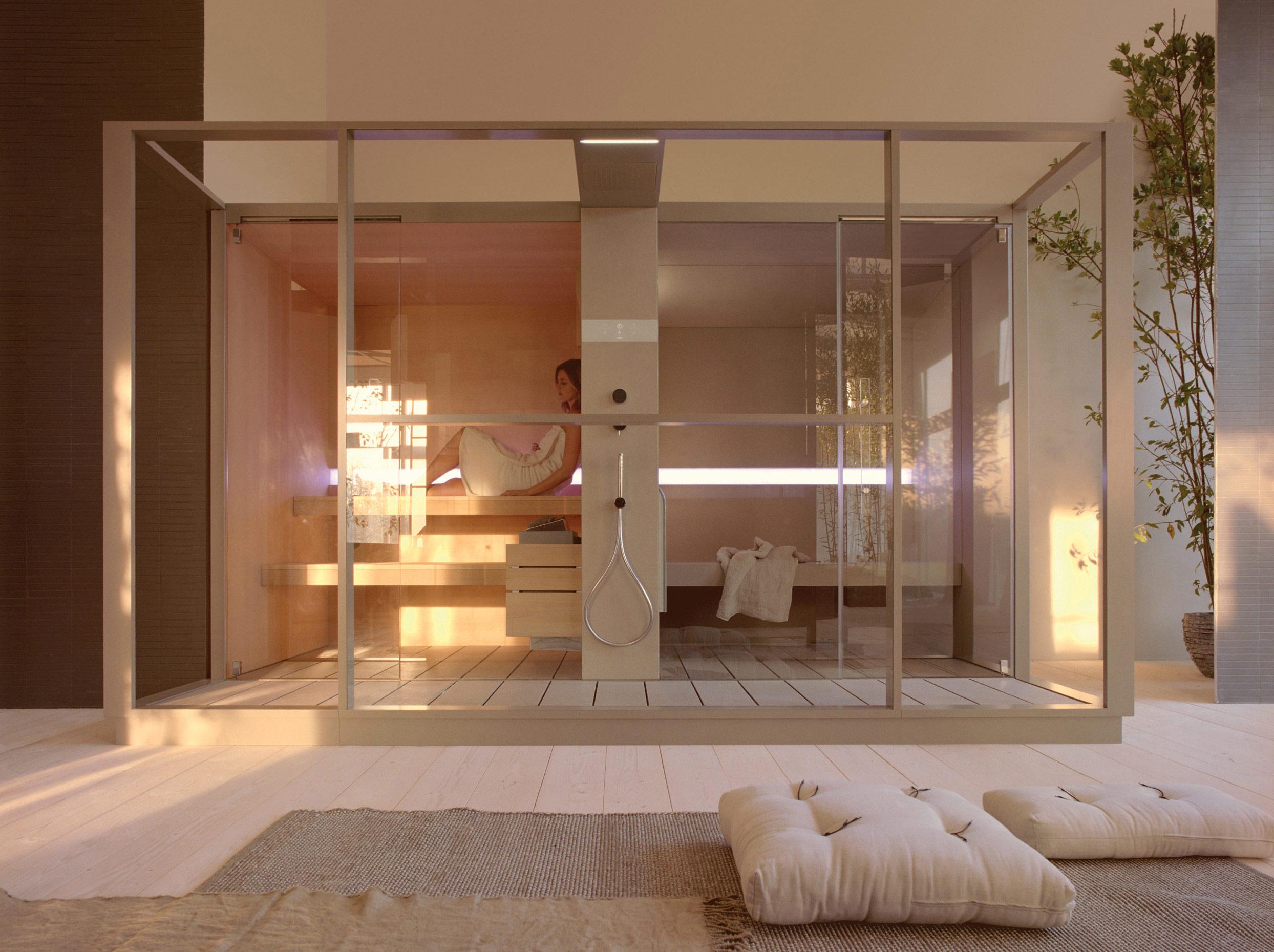 cabinas de sauna y bao de vapor