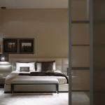 Cama doble Urano de la colección para hogar de Fendi Casa