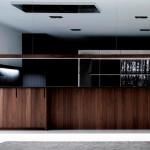 Cocina moderna Gunni & Trentino en madera de roble envejecido