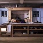 Cocina rústica serie New Country de Gunni&Trentino