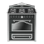 Cocinas clásicas a gas colección Cortina by Smeg