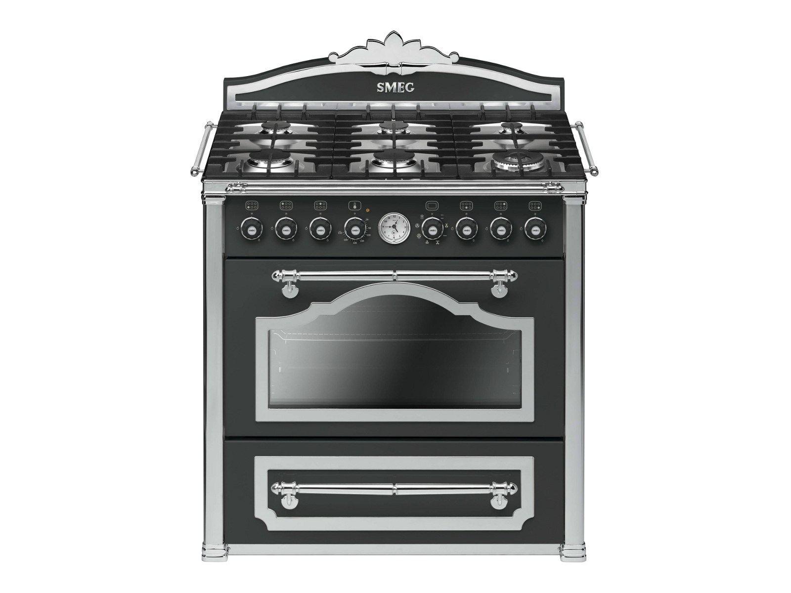 ... Cocinas Clásicas A Gas Colección Cortina By Smeg ...