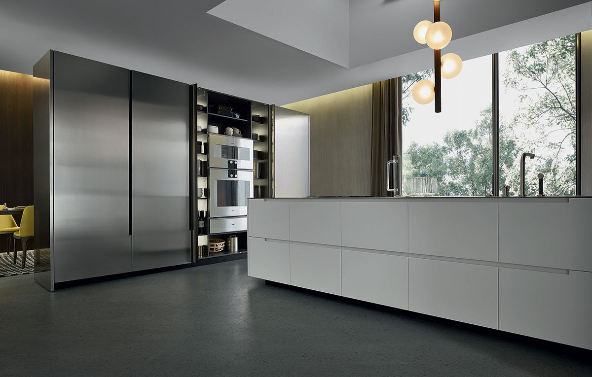 Cocinas de dise o modernas y de lujo en gunni trentino for Marcas de cocinas alemanas
