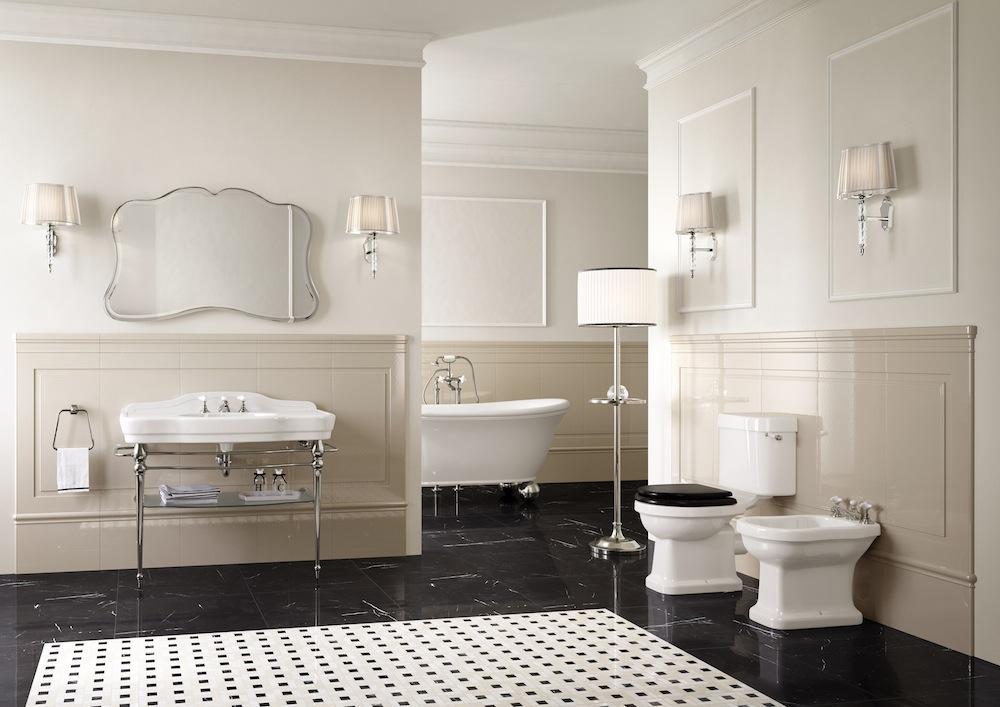 Colección de muebles clásicos de baño Melody de Devon & Devon