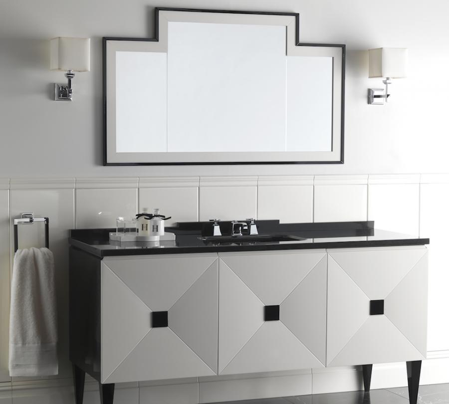 Baños Estilo Art Deco ~ Dikidu.com