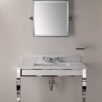 Consola clásica de lavabo Claridge