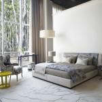 Dormitorio clásico de estilo afrancesado de las colecciones de Kenzo