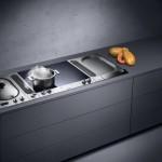 Encimera de cocina con placas de cocción Gaggenau