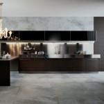 Estilo moderno y clásico en ununa cocina de diseño contemporáneo