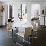 Interiores contemporáneos con colecciones B&B Italia