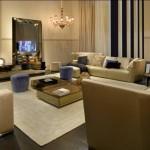 Sofás clásicos modelo borromini de Fendi Casa