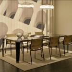 Sillas de comedor modelo Blixen y mesa Serenguetti