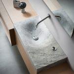 Lavabo en piedra natural de la marca Ágape