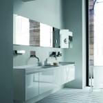 Lavabos modernos y espejos Agape