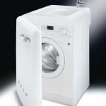 Lavadora con lavabo incorporado en color blanco