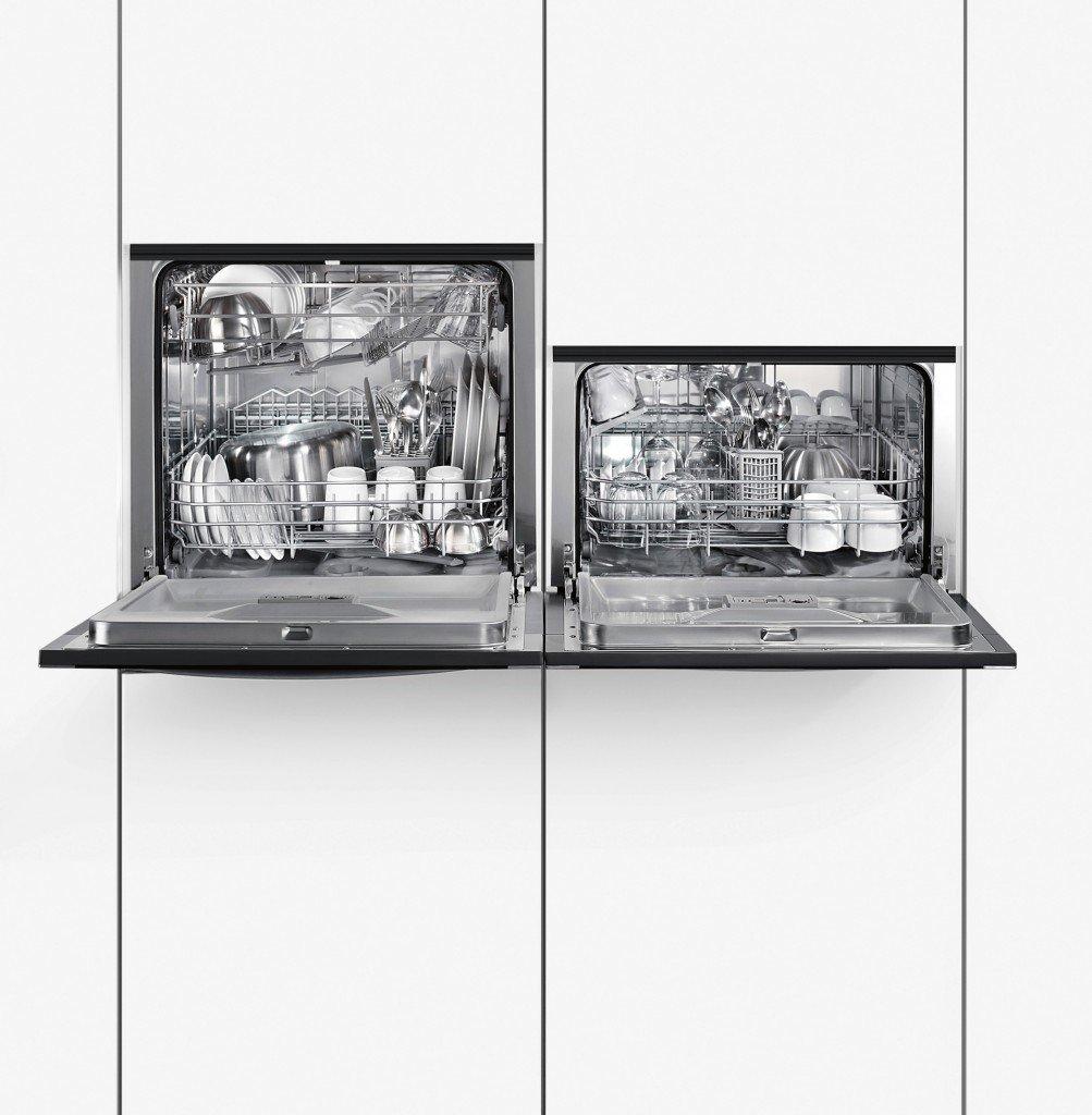 Lavavajillas modular instalado en alto, de Neff