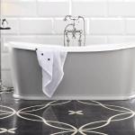 Bañera de estilo victoriano