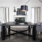 Mesa de madera para comedor modelo Zeus