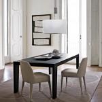 Mesa extensible de madera Omero
