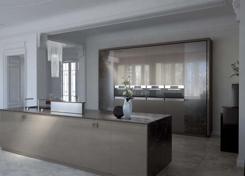 Cocinas de dise o modernas y de lujo en gunni trentino for Fenda muebles