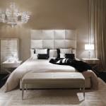 Muebles de lujo para dormitorio de las colecciones Fendi Casa