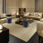 Muebles de lujo para el salón de Fendi Casa