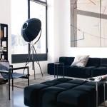 Muebles de salón modernos de la marca B&B Italia