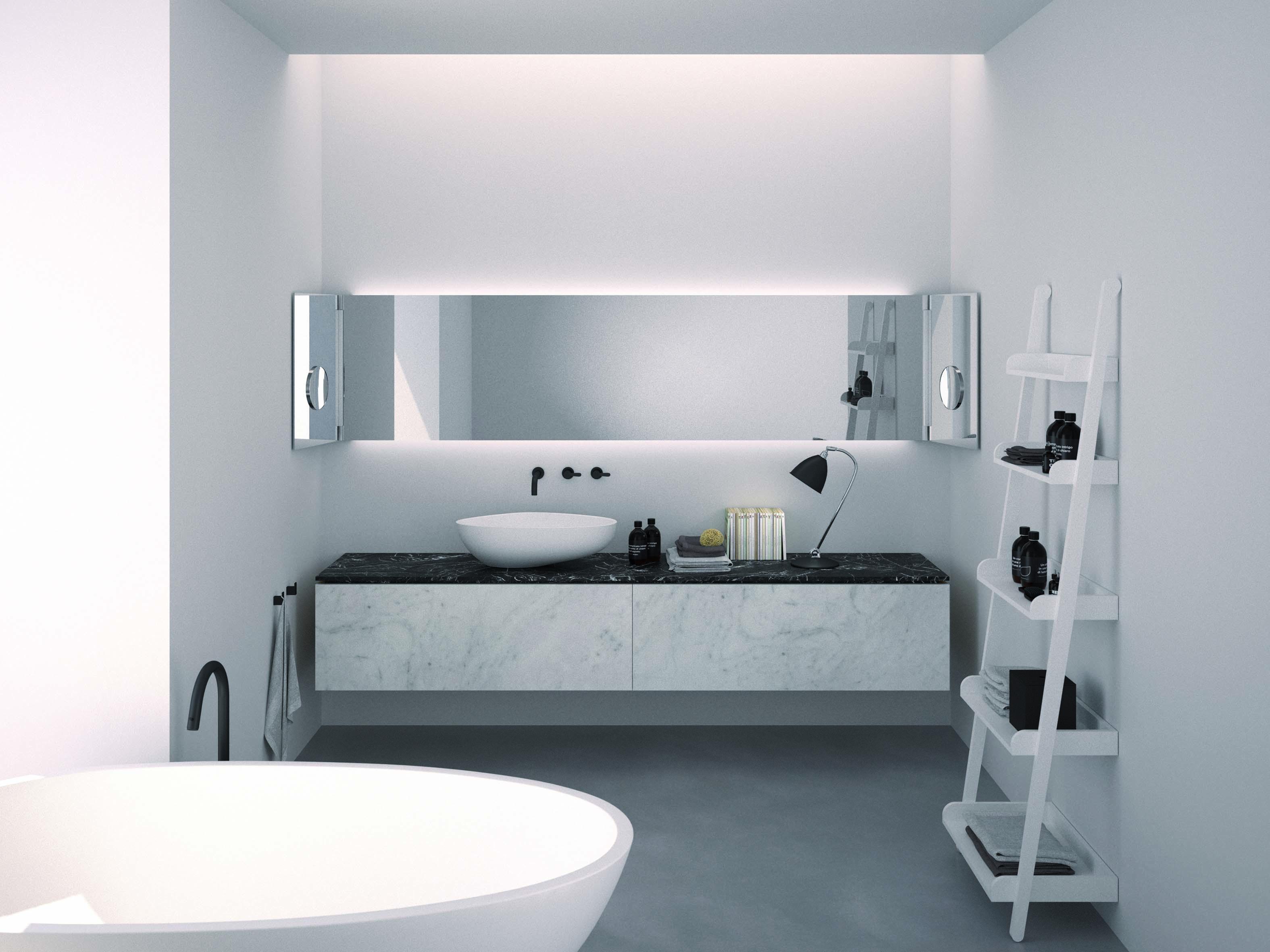 Muebles modernos de baño de la marca italiana Agape