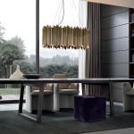 Mesas de comedor en madera y mármol en GUNNI&TRENTINO