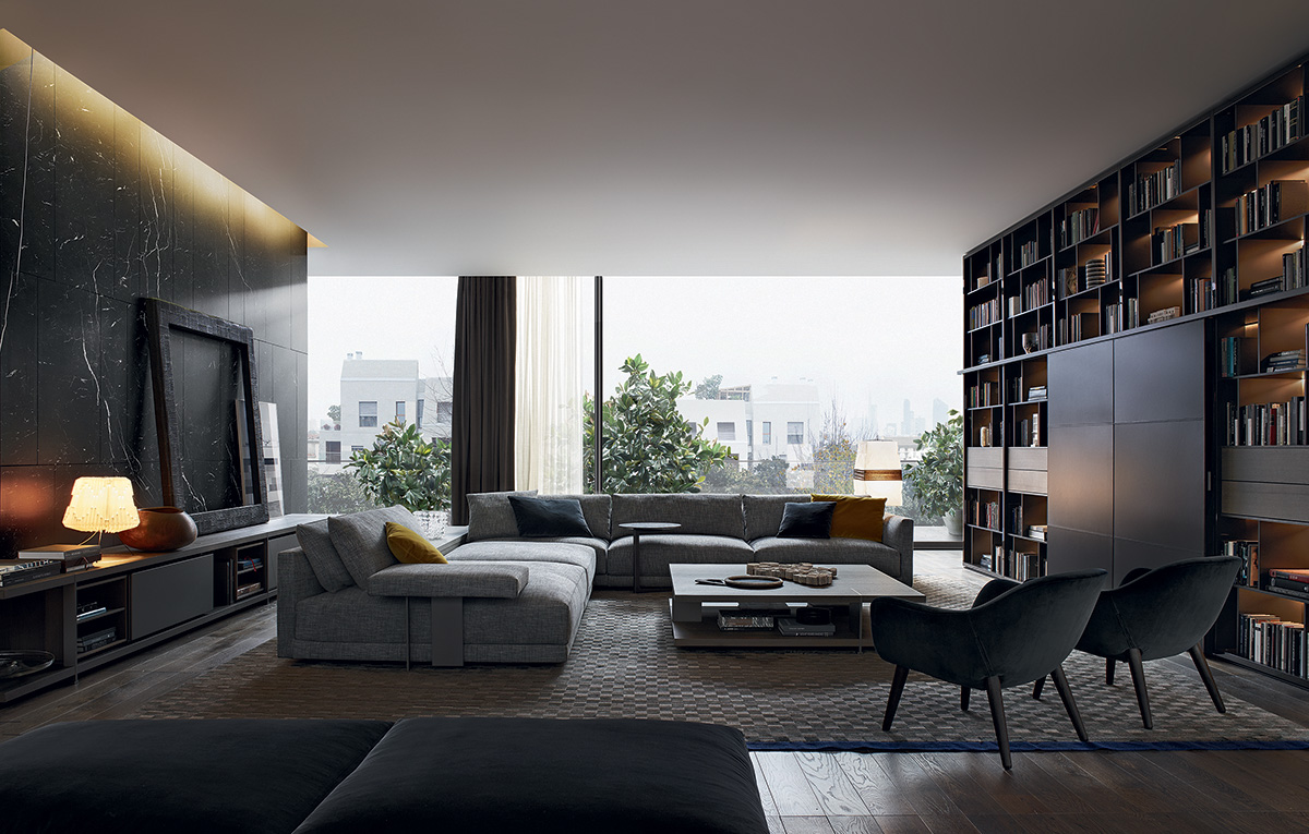 Muebles modernos y de dise o para el hogar en gunni trentino for Muebles de salon de diseno italiano