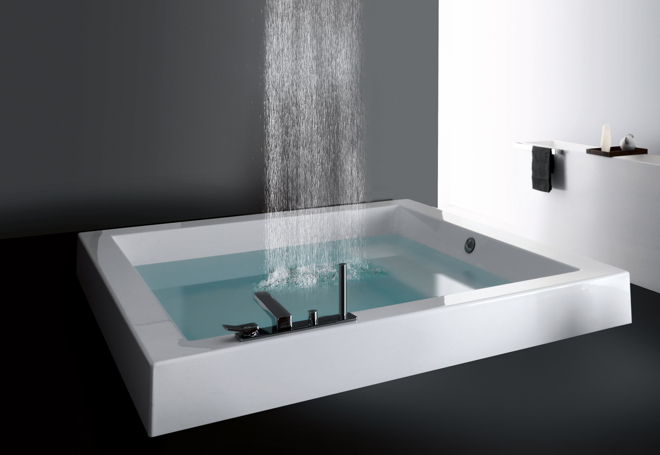 Cabinas De Ducha Kos:Shower Tub with Waterfall