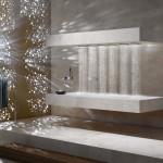 Sofisticación del wellness con la ducha horizontal de Dornbracht