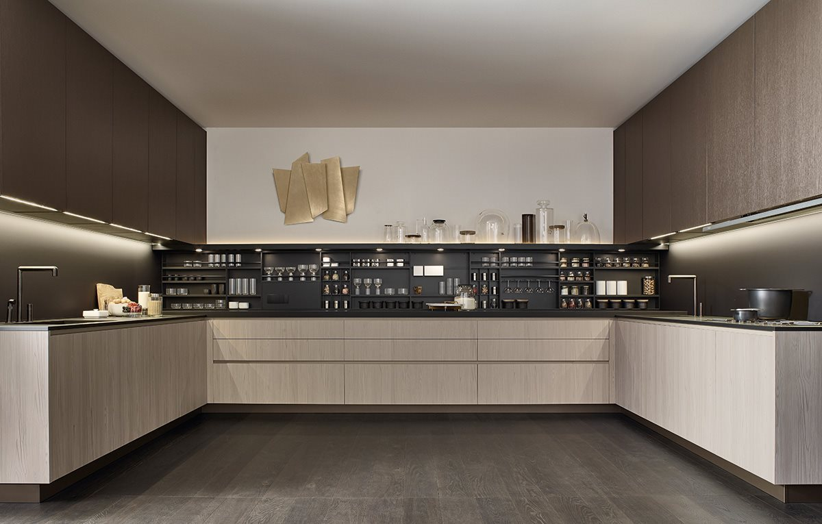 Cocinas de dise o modernas y de lujo en gunni trentino for Cocinas modernas