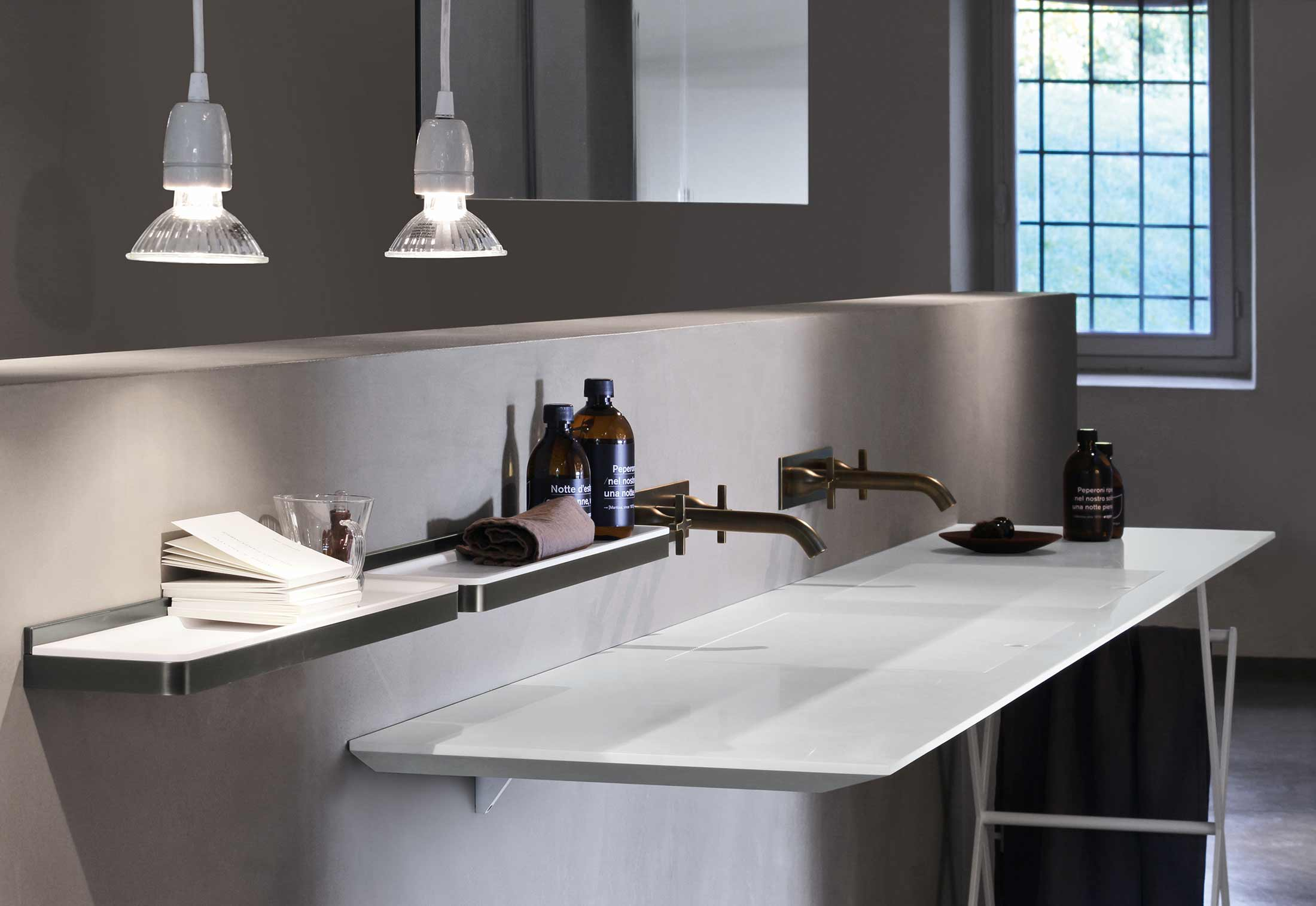 ... Lavabo ultrafino en mármol de la firma italiana Ágape ... 524f6bc7989d