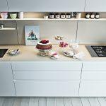 Diseñamos su cocina también para espacios reducidos.