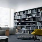 Sistema de librerías en madera