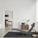 Estilo escandinavo minimalista con mobiliario de Fritz Hansen