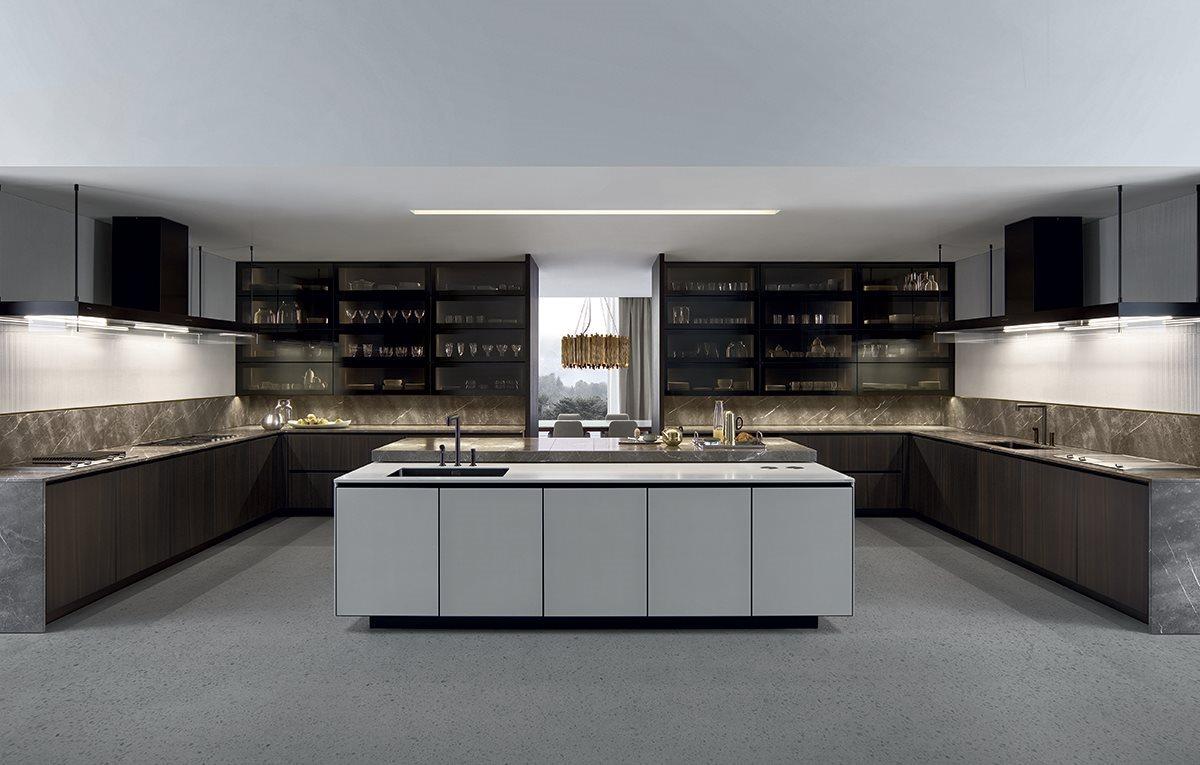 Cocinas de dise o modernas y de lujo en gunni trentino for Cocinas modernas 2016 con isla