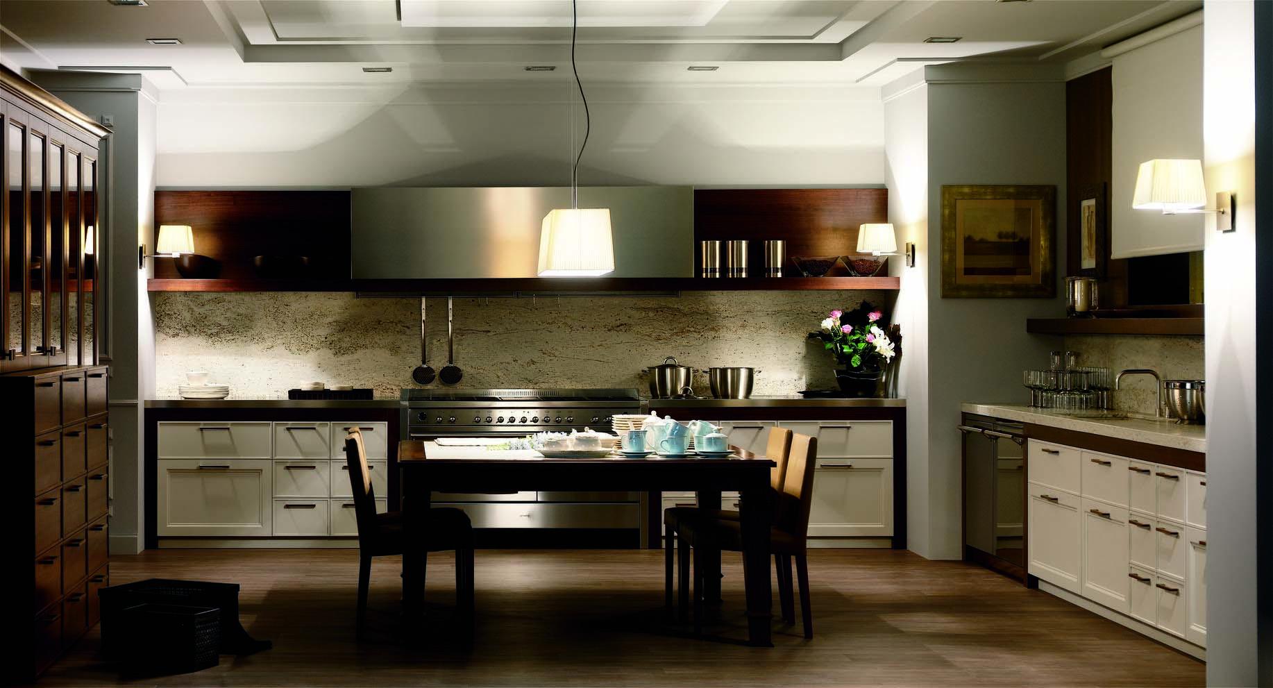 Muebles de cocina modernos y cl sicos gunni trentino for Muebles de cocina clasicos