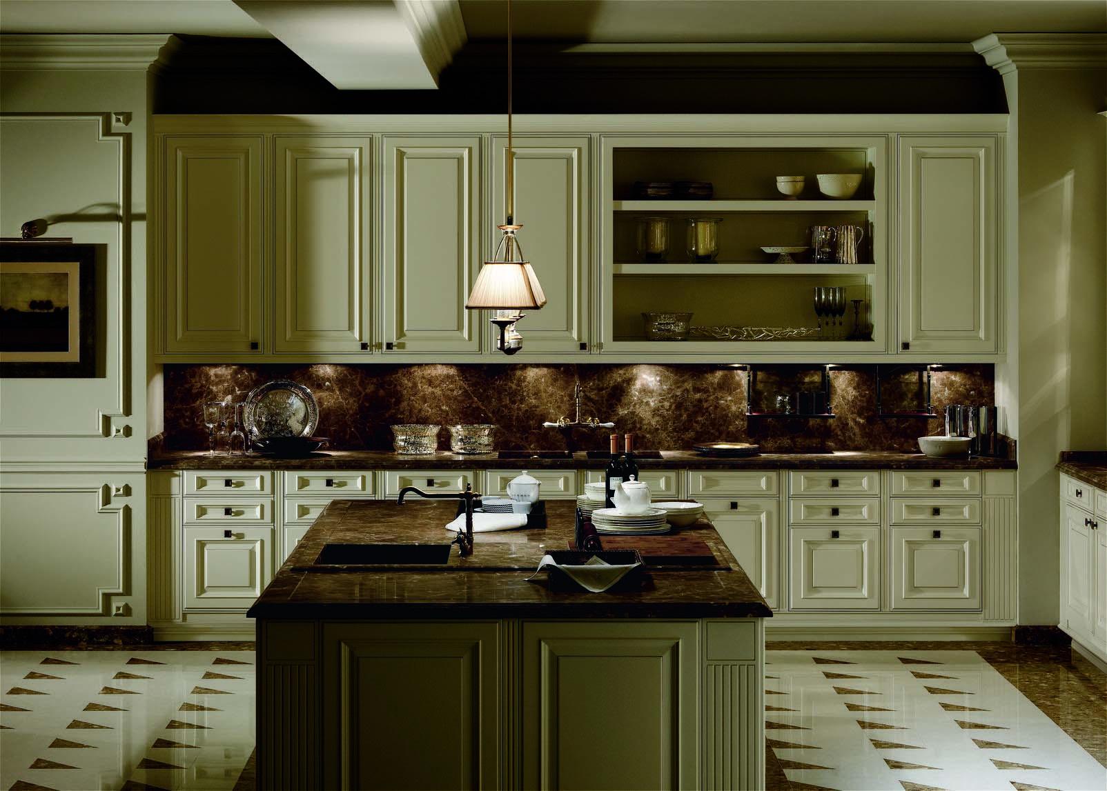 Muebles de cocina modernos y cl sicos gunni trentino - Muebles modernos clasicos ...