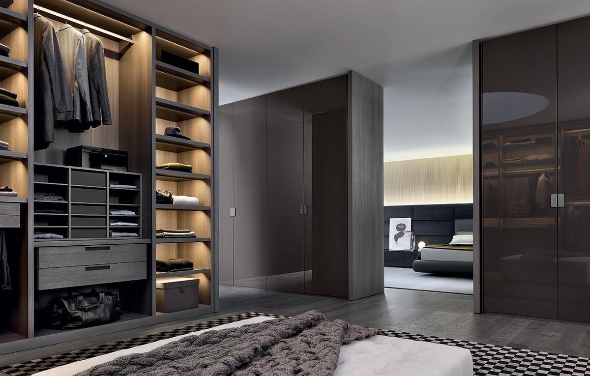 Armarios y puertas de dise o gunni trentino - Iluminacion interior armarios ...